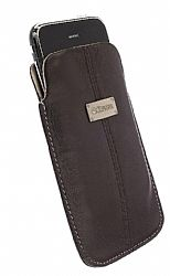 Krusell 95274 Luna XL Universal Leather Pouch (Brown)