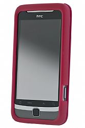HTC Hard Shell Case for T-Moblile G2 (Raspberry)