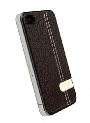Krusell 89510 Gaia Undercover iPhone 4 Crystal Case (Brown)