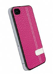 Krusell 89512 Gaia Undercover iPhone 4 Crystal Case (Pink)