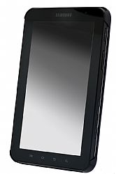 Samsung Executive High-end Leather Snap-on Back Cover for Galaxy Tab (Black)