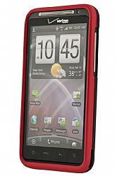 HTC Hard Shell Case for HTC ThunderBolt 4G (Metallic Red)