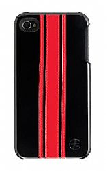 Trexta Snap on  Racing Series for Verizon iPhone 4 / iPhone 4  (Red/Black)