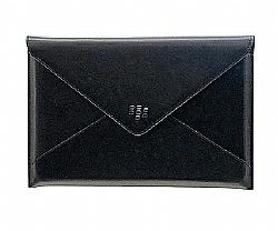 BlackBerry Leather Envelope for BlackBerry PlayBook / 7 inch Tablets Kindle Fire (Black)