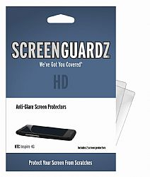 ScreenGuardz+HD Screen Protector for HTC Inspire 4G