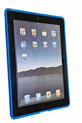iLuv Flex Gel case for iPad 2 in Blue (LIQUIDATION ITEM)*******NO RETURNS!