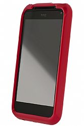 HTC TPU Case for HTC Incredible 2 in Red