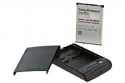 Sony Ericsson Battery Charger with Micro USB Connection & BST-41 Battery Kit for Sony Ericsson Xperia Play