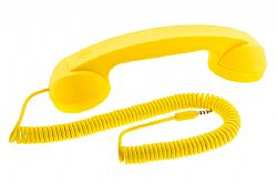 Native Union POP Phone Handset for iPhone in Yellow