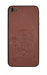 Zagg LEATHERskin for iPhone 4 Universal (Brown)
