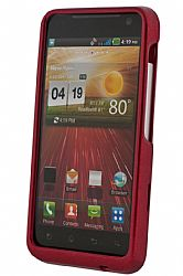 Xentris Wireless Snap on case for the LG  Revolution  4G in Red
