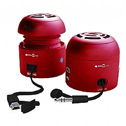 Chill Pill Mobile Speakers (Red)