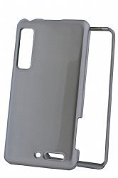 Xentris Wireless Snap On Cover for Motorola Droid 3 in Silver Sparkle