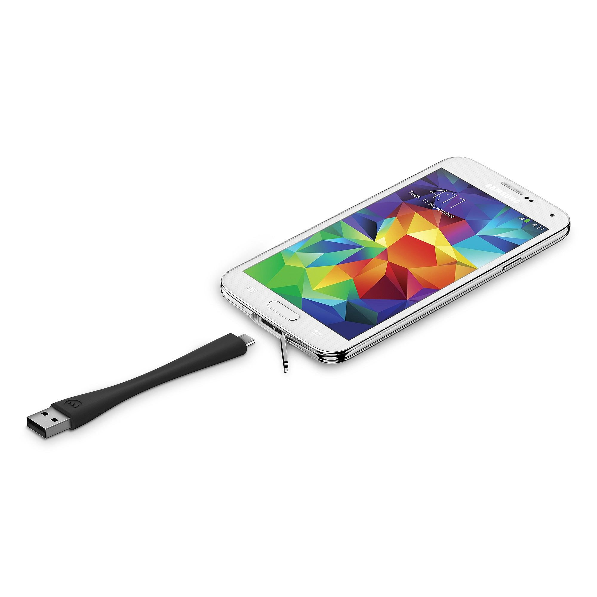 buy popular 28339 738f3 mophie memory-flex USB Cable for Devices with Micro Connector ...