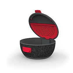 iFrogz Wireless Earbud Charging Case - Dark Grey/Red