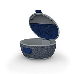 iFrogz Wireless Earbud Charging Case - Gray/Navy