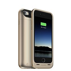 mophie Juice Pack Plus Rechargeable External Battery Case for iPhone 6 (3300 mAh) - Gold