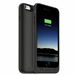 mophie Juice Pack Rechargeable External Battery Case for iPhone 6 Plus (2600 mAh) - Black