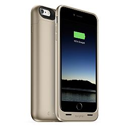 mophie Juice Pack Rechargeable External Battery Case for iPhone 6 Plus (2600 mAh) - Gold
