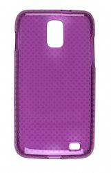 Wireless Solutions Dots Dura-Gel Case for Samsung Skyrocket SGH-I727 (Purple)