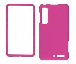 Wireless Solutions Snap On Case for Motorola DROID 3 XT862 (Pink)