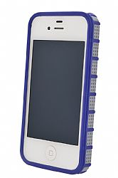 Ventev GridX iPhone 4 / 4S Case (Gray / Purple)