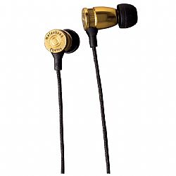 Motorheadphones Trigger In-Ear Headphones - Brass