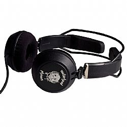 Motorheadphones Bomber On-Ear Headphones - Black
