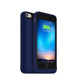 mophie Juice pack Reserve External Battery Case for iPhone 6 (1,840mAh) Blue