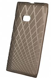 Ventev Waffle Patterned Dura Gel Case for Nokia Lumia 900 (Black)