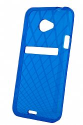 Ventev Waffle Patterned Dura Gel Case for HTC EVO 4G LTE (Blue)