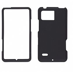 Wireless Solutions Snap on Case for Motorola Bionic XT875 (Black)