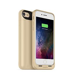 mophie Juice Pack Air Rechargeable External Battery Case for iPhone 7 Gold (2,525 mAh)