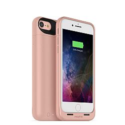 mophie Juice Pack Air Rechargeable External Battery Case for iPhone 7 Rose Gold (2,525 mAh)