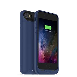mophie Juice Pack Air Rechargeable External Battery Case for iPhone 7 Blue (2,525 mAh)