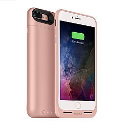 mophie Juice Pack Air Rechargeable External Battery Case for iPhone 7 Plus Rose Gold (2,420mAh)