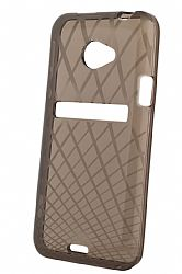 Ventev Waffle Patterned Dura Gel Case for HTC EVO 4G LTE (Smoke)