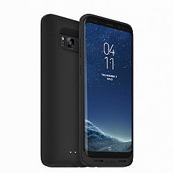 mophie juice pack for Samsung Galaxy S8+ (3300 mAh)- Black