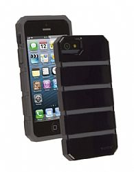 Ventev shockguard Case, Apple iPhone 5/5s in Black/Gray