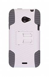 Ventev Edge Holster/Case Combo for HTC EVO 4G LTE (White/Gray)