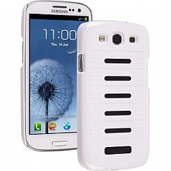 Ventev Accent Case for Galaxy S3 III (Glossy White / Glossy Black Inserts )