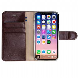 Krusell Ekero FolioWallet 2in1 for Apple iPhone X - Brown
