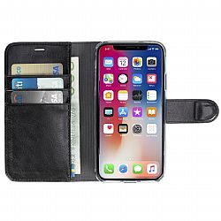 Krusell Ekero FolioWallet 2in1 for Apple iPhone X - Black