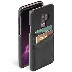Krusell Sunne 2 Card Cover for Samsung Galaxy S9+ in Vintage Black