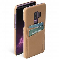 Krusell Sunne 2 Card Cover for Samsung Galaxy S9+ in Nude