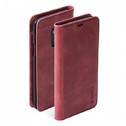 Krusell Sunne 2 Card FolioWallet Case for Samsung Galaxy S9 in Vintage Red