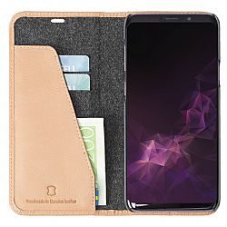 Krusell Sunne 2 Card FolioWallet Case for Samsung Galaxy S9+ in Nude