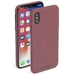 Krusell Sandby Cover Apple iPhone X/Xs - Rust