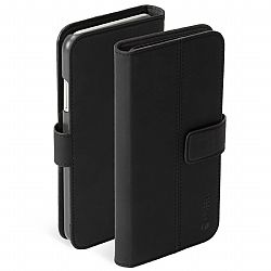 Krusell Sunne 4 Card FolioWallet for Apple iPhone Xr - Vintage Black