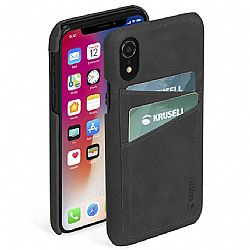 Krusell Sunne 2 Card Cover for Apple iPhone Xs Max - Vintage Black